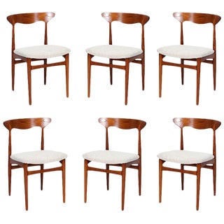 Set of 6 Christian Linneberg Dining Chairs