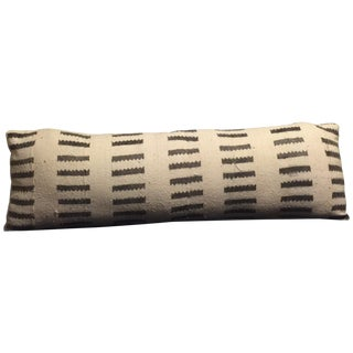 Large Mudcloth Lumbar Pillow