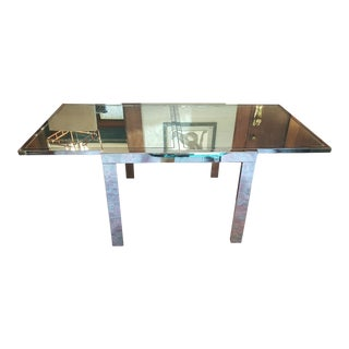 Milo Baughman Contemporary Extendable Table