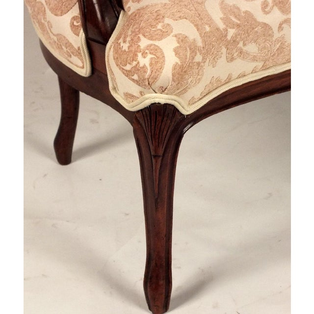 Louis XV-style Carved Frame Settee - Image 7 of 8