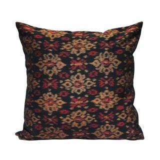 "Handwoven Ikat Pillow ""Bali Siring"""