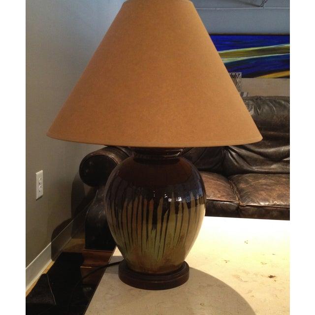 Georgia Artist, Charlie West Lamp - Image 4 of 4