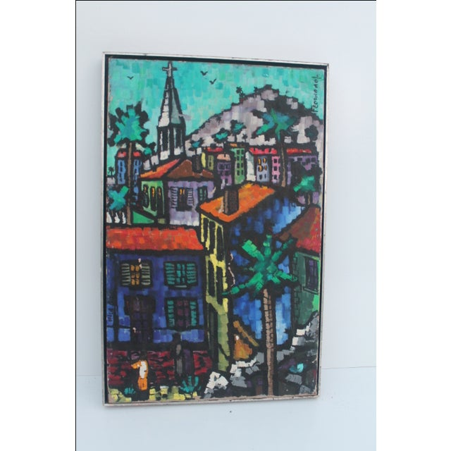 Cityscape Abstract Painting by Feomanol - Image 11 of 11