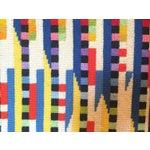 Image of Vintage Needlepoint Geometric Op Art