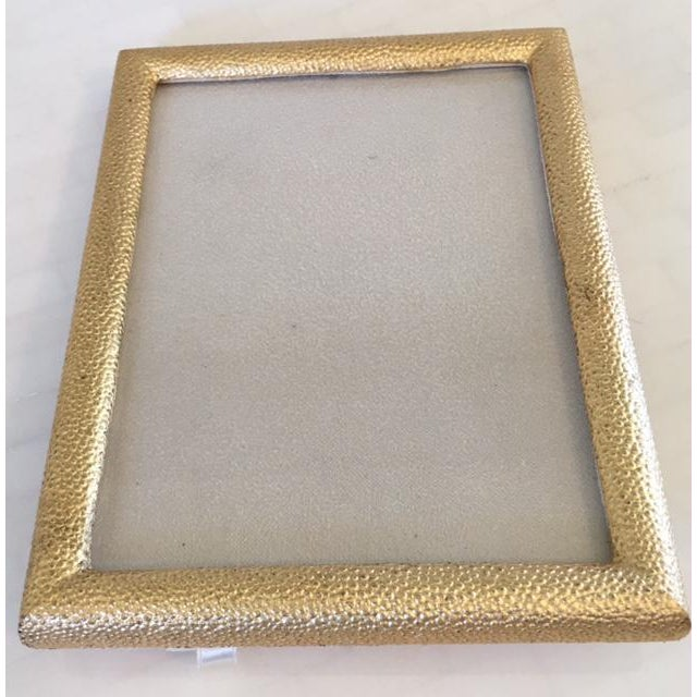 Image of Gold Shagreen Picture Frame