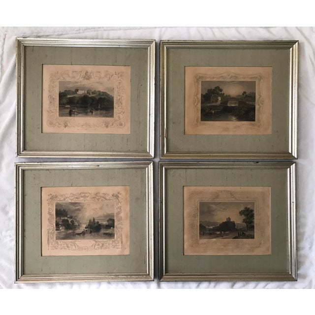 Antique Framed Prints by William Tombleson - Set of 4 - Image 2 of 11
