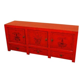 Antique Mongolian Sideboard