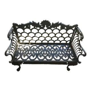 Cast Iron Garden Patio Bench