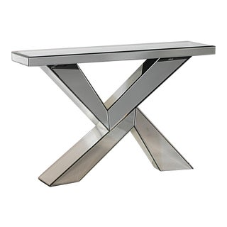 Modern Design Mirrored Console