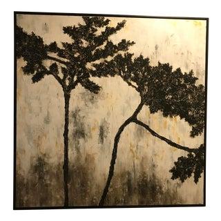 Large Framed Art Canvas