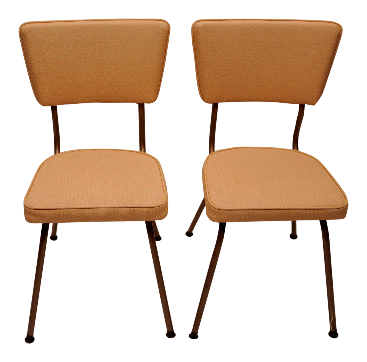 Defco Of Detroit Mid Century Modern Vintage Dining Chairs   Pair