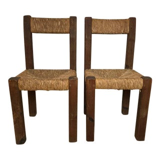 19th C. French Side Chairs - A Pair