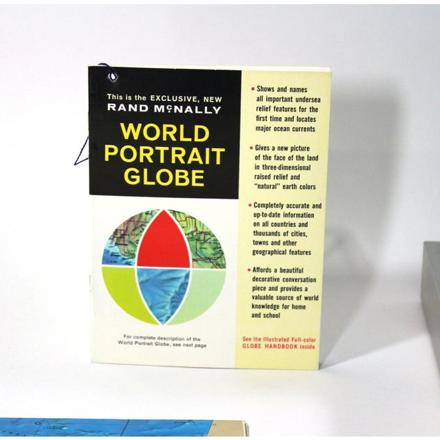 1960s Rand McNally New World Portrait Globe Set - Image 5 of 7