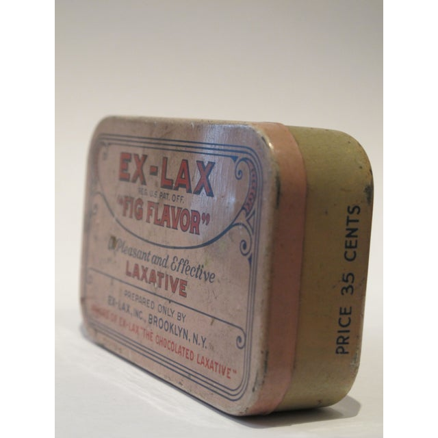 Vintage Ex Lax Tobacco Tin - Image 5 of 5