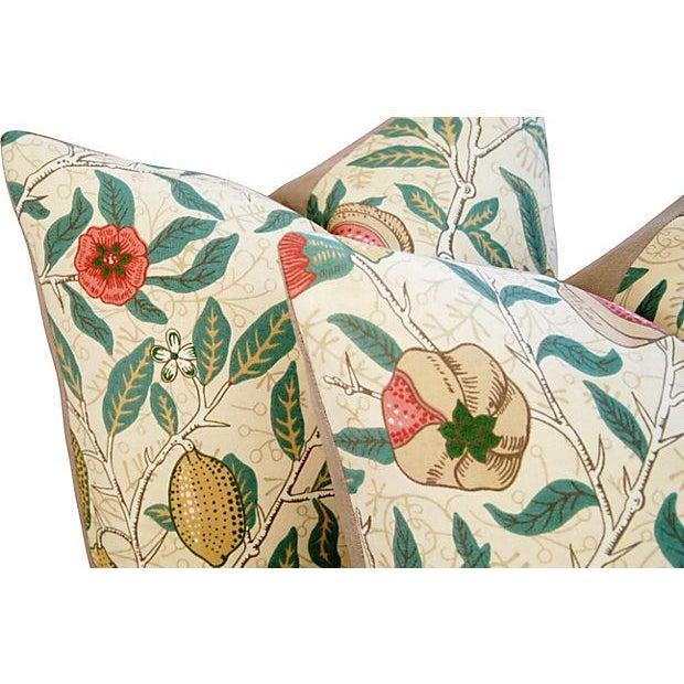 William Morris & Co Fruit Pillows - Pair - Image 4 of 7