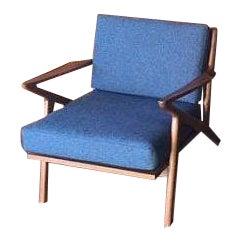 Mid Century Custom Selig Style Z Chair