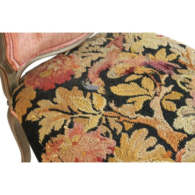 Aubusson Tapestry Chair - Image 4 of 5