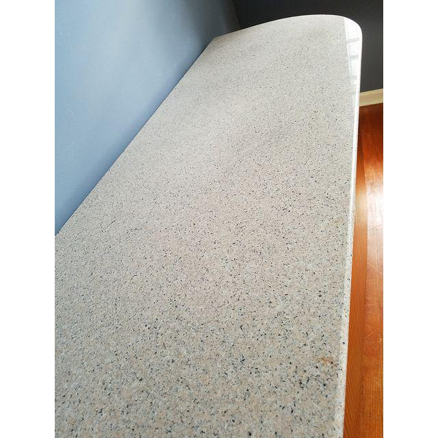 Karl Springer Style Granite Top Credenza - Image 3 of 5
