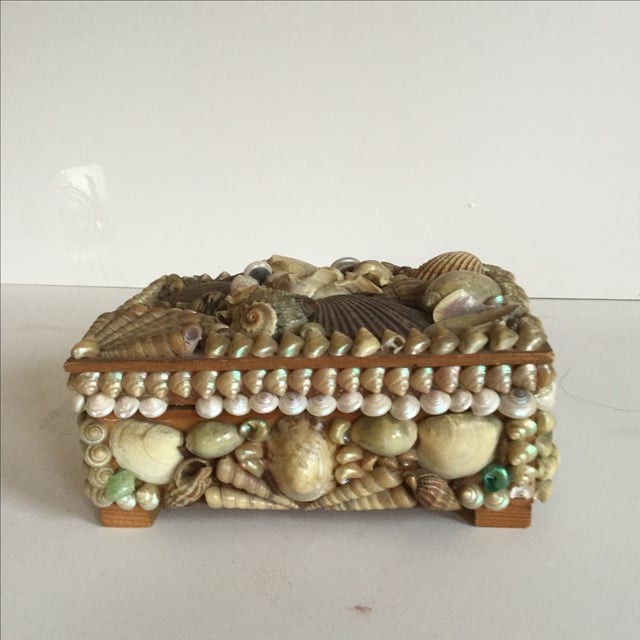 Image of Antique Shell Box