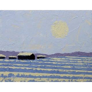 """""""Winter Fields"""" Painting by Celeste Plowden"""