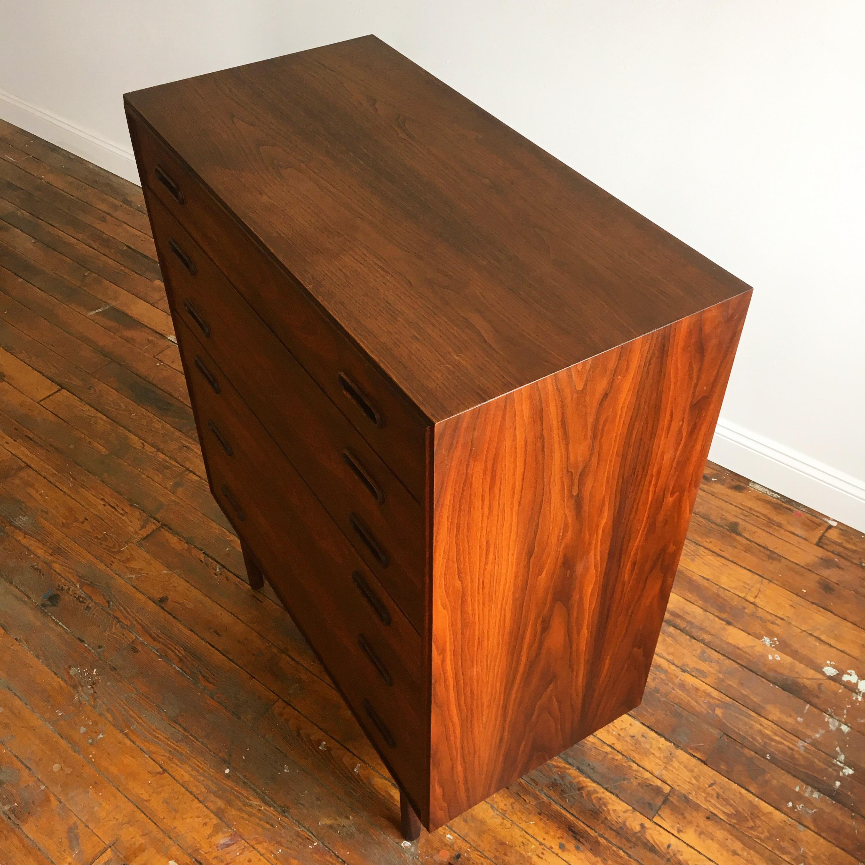furniture jack. jack cartwright collection for founders furniture mid-century highboy dresser - image 5 of 7