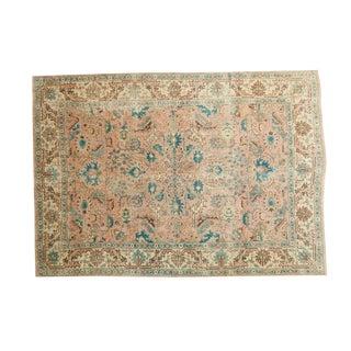 "Vintage Tabriz Carpet - 6'8"" x 9'5"""