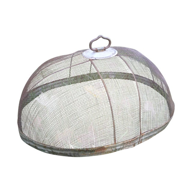 Image of Vintage English Wire Food Cloche