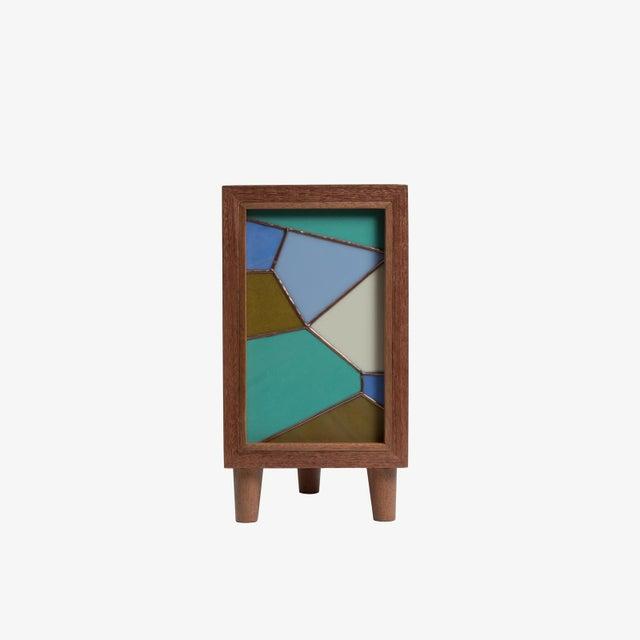 Handmade Stained Glass Lamp by Bernadette Prada - Image 2 of 8
