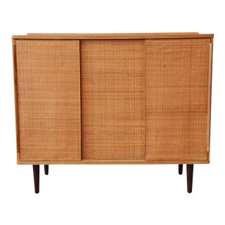 Edward Wormley for Dunbar Woven Front Cabinet