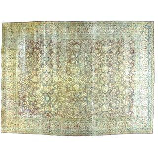 Antique Persian Kermanshah Carpet - 9' x 12'1''