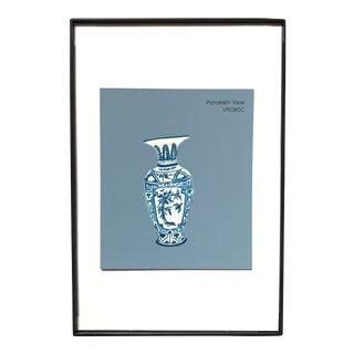 """Acrylic Painting: """"Porcelain Vase"""""""