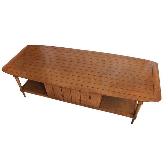 Mid-Century Walnut 'Surfboard' Coffee Table - Image 9 of 9