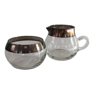 Dorothy Thorpe Sugar and Creamer Set