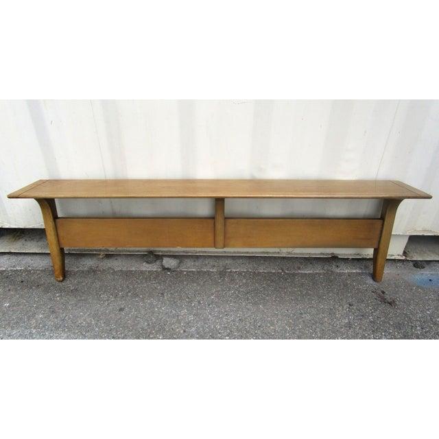 Vintage Wooden Headboard & Footboard, Full Size - Image 6 of 7