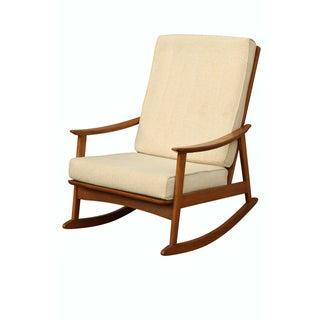 Mid-Century Modern Scandinavian Rocking Chair