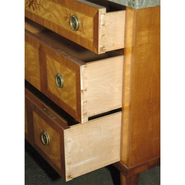 Marquetry Inlaid Commode / Chest of Drawers - Image 5 of 5