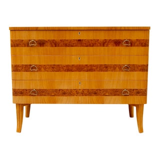 Swedish Art Moderne Chest by Bodafors Ca. 1940