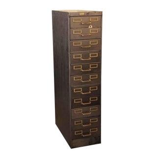 Industrial 11 Drawer Steel File Cabinet
