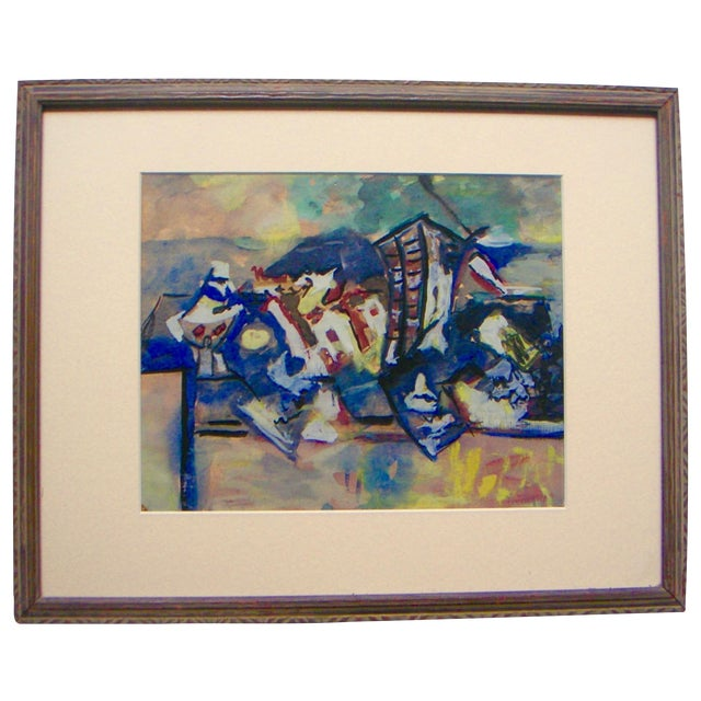 Image of New York Abstract Expressionist Painting