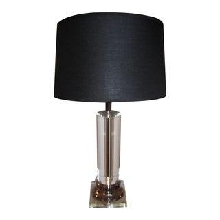 Column Crystal Lamp