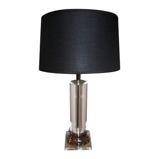 Column Crystal Lamp