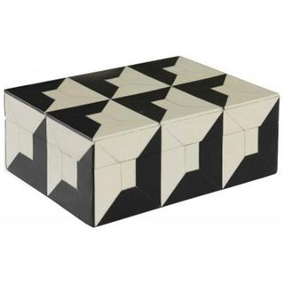 Black & White Bone Box