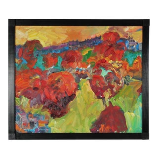 """""""Red Trees"""" San Francisco Fauvism 2011"""