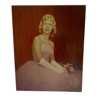C. 1960 Formal DanceColor Photograph