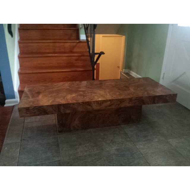 Image of Burl Coffee Table After Baughman