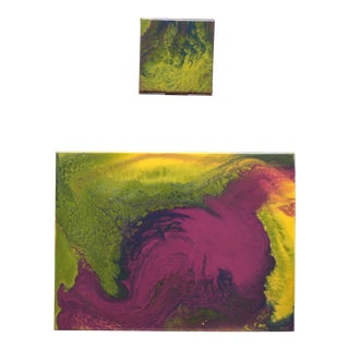 'Tropical Day Dream Paintings' - A Pair