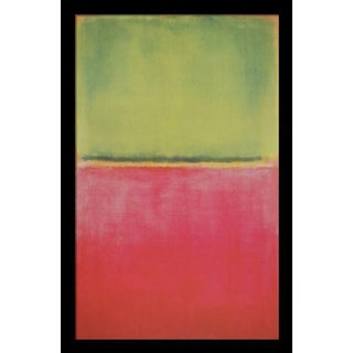 """Green, Red on Orange 1951"" by Mark Rothko"