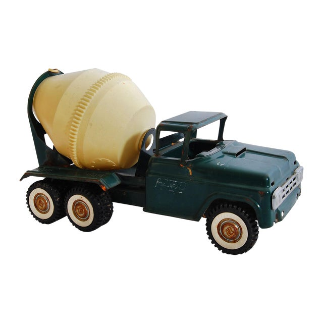 Americana Buddy L Cement Truck Vintage Toy - Image 1 of 4