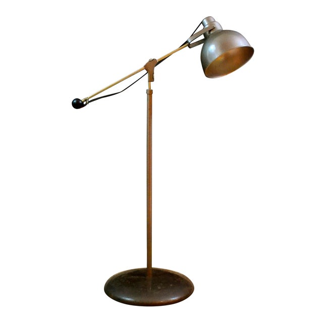 vintage kenmore industrial floor lamp chairish. Black Bedroom Furniture Sets. Home Design Ideas