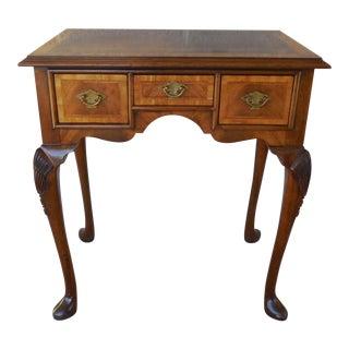 Hickory Chair Historic James River Plantation Mahogany Banded Console Table